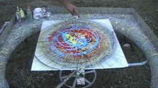 Spin Painting #3 by Abraham De La Torre