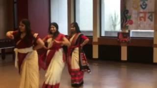 BSAUS Pohela Boishakh 2016 (1423)| Dheem Tana Dance