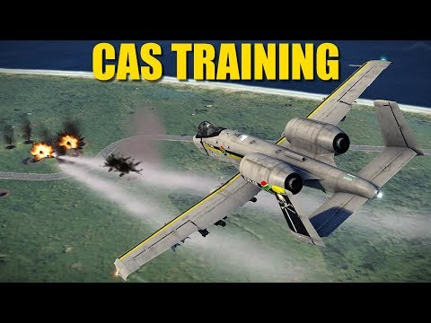 Reapers CAS Ground Attack Training   A-10 Su-25 F-5 Mirage   DCS
