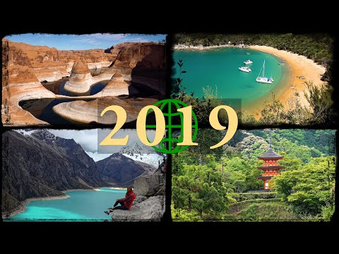 2019 Rewind Amazing Places on Our Planet in 4K Ultra HD 2019 in Review YouTubeRewind