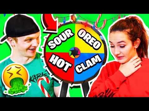 MYSTERY CANDY CANE CHALLENGE SOUR OREO SPICY