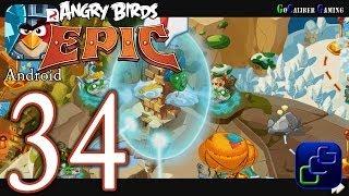 ANGRY BIRDS Epic Android Walkthrough - Part 34 - Magic Shield