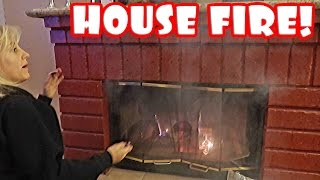 DIRTBIKE FAIL AND HOUSE FIRE!