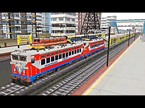 Indian Train Simulator - Drive - Double Heading WAG 5 Duronto - Anantapur to Mumbai