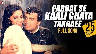 Parbat Se Kaali Ghata Takraee - Full Song | Chandni | Rishi Kapoor | Sridevi