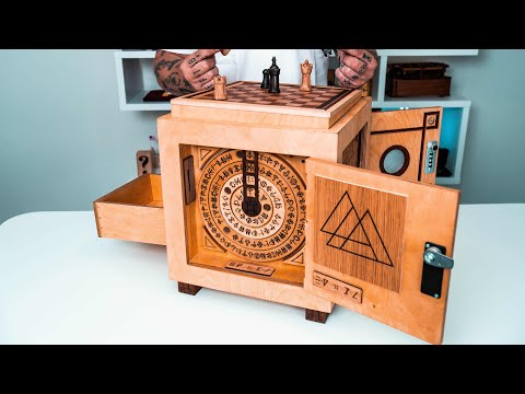 Solving The World's GREATEST Puzzle Box 20 000 One of a Kind