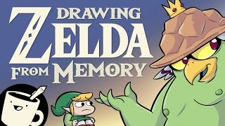 Three Artists Try Drawing Zelda Bosses From Memory