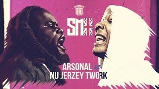 ARSONAL VS NU JERZEY TWORK SMACK RAP BATTLE | URLTV