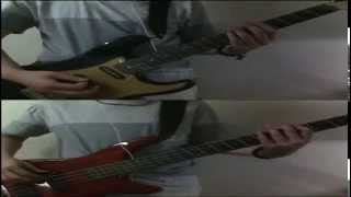 [guitar+bass]SCANDAL BURN cover