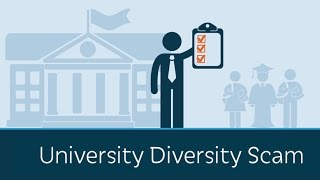 What is the University Diversity Scam?
