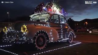 The most Christmassy car ever