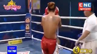 Khmer Boxing, Thun Chantak vs Phusanglekthai, Kun Khmer Boxing, CNC TV Boxing