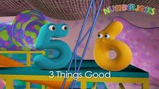 Numberjacks | 3 Things Good | S1E22