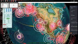 6/25/2017 -- Deep earthquake event carries on -- Pacific Unrest spreads to Mideast