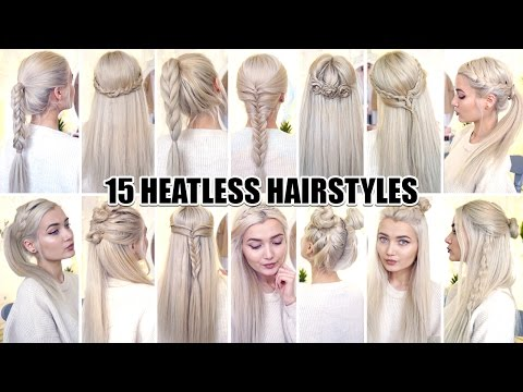 Xxx Mp4 15 Braided Back To School HEATLESS Hairstyles 3gp Sex