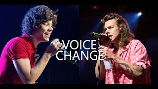 Harry Styles Voice Evolution | 2010 – 2016