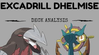 Excadrill Dhelmise Deck Analysis and Battles! (Pokemon TCG)