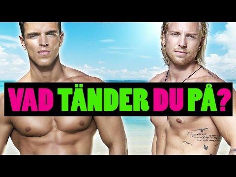 Donik Hamiti & Sebastian Stenberg från Paradise Hotel 2016