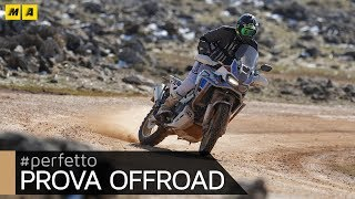 Honda Africa Twin Adventure Sports 2018 OFFROAD TEST 2a Pt [ENSLISH SUB]
