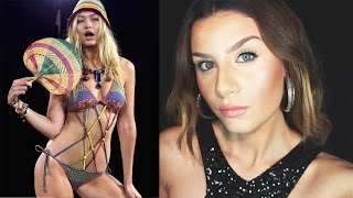 Gigi HADID Victoria's Secret Fashion Show 2015 Makeup Tutorial ITALIANO   None Fashion and Beauty