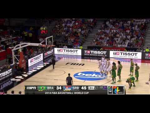 watch FIBA World Cup 2014 Quarterfinal Brazil vs Serbia HD