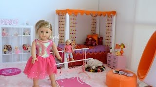 American Girl Doll Isabelle Bedroom ~ HD WATCH IN HD!