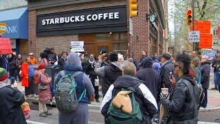 Starbucks responds after outrage over black men's arrest