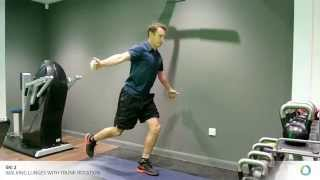 CHHP Winter sports series: Ski 2-  Walking lunges with rotations