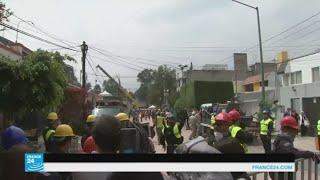 عمليات الإنقاذ متواصلة جراء الزلزال في المكسيك