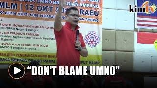 Jamal calls Azmin 'stupid' for saying Umno poisoned water in Selangor