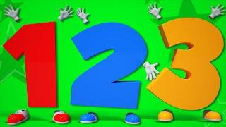 numbers song | learn numbers | 123 song | nursery rhyme | kids songs | 3d rhymes