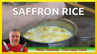 How to Cook Saffron Rice