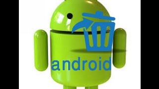Delete photoes and files for ever from android devices