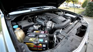 2007 Nissan Frontier engine whining noise