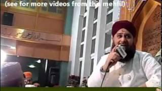 Allah Nabi Da Naam Exclusive Mehfil Manchester 29-1-2011 Owais raza qadri