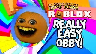 Roblox: REALLY EASY OBBY! [Annoying Orange Plays]