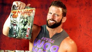 Zack Ryder gets grossed out by Mattel