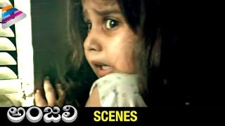 Tarun runs away from Baby Shamili | Anjali Telugu Movie Scenes | Raghuvaran | Telugu Filmnagar