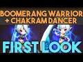 Download Video Download Boomerang Warrior + Chakram Dancer FIRST LOOK! in SUMMONERS WAR 3GP MP4 FLV