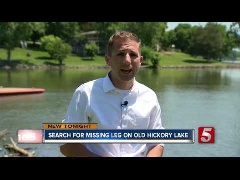 Marine Gets Prosthetic Leg Back After Losing It In Lake
