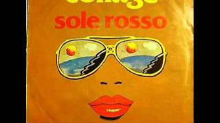 I Collage - Sole rosso