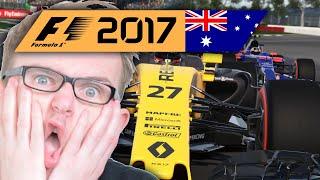 Saisonstart im CHAOS! | Australien 1/2 🎮 F1 2017 #7