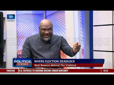 Chidi Lloyd Fumes Over Rivers Poll Suspension Alleges Foul Play Politics Today