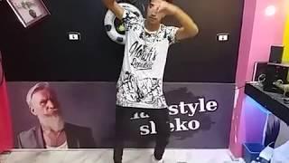 صالح فوكس رقص غربي علي تراك جامد اوى عند شيكو لولاكي في المحل 2017