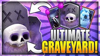 ULTIMATE LADDER KILLER!! Top 200 - Graveyard Pekka Deck after Update!! Clash Royale