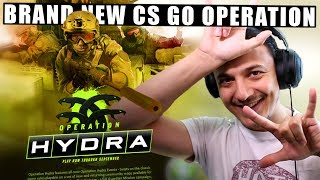 OMG... FINALLY... CS GO OPERATION HYDRA!!! (BRAND NEW MAPS,  MISSIONS, MODES, & CASES)