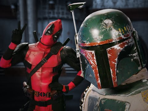 Deadpool vs Boba Fett. Epic Rap Battles of History Bonus Battle