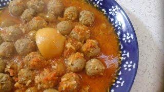كفتة السردين بالطماطم روووعة _ kefta sardine marocaine