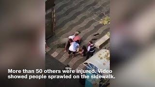 Van attack kills at least 12 in Barcelona