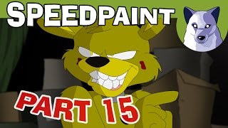 Preview! Five Nights at Freddy's (part 15) - Animated Speedpaint [Tony Crynight]